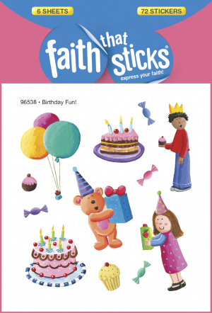 Birthday Fun Stickers