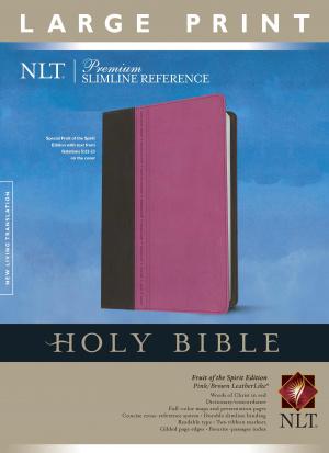 Premium Slimline Reference Bible NLT, Large Print TuTone