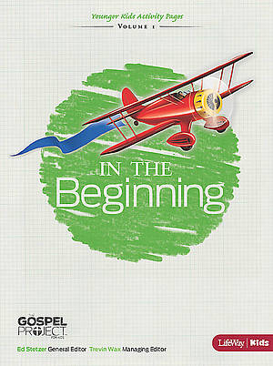 In The Beginning Activity Pages for Younger Children