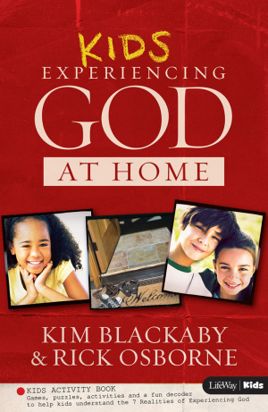 Experiencing God At Home Kids Activity