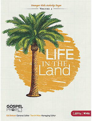 Life in the Land Younger Kids Activity Sheets