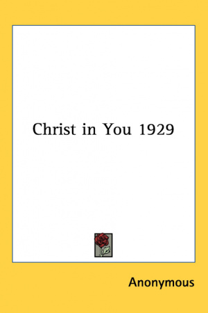 Christ In You 1929