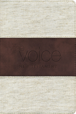 The Voice New Testament: Cloth and Leather