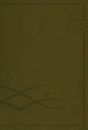 NCV Dad's Bible: Deep Green, LeatherSoft