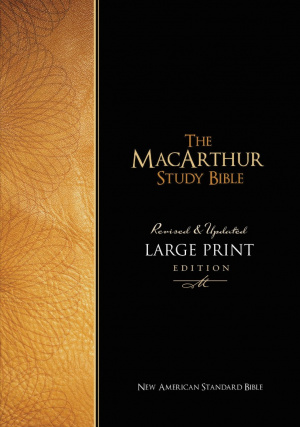 NASB MacArthur Study Bible: Large Print, Hardback