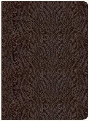 NKJV Chronological Study Bible: Mahogany, Genuine Leather