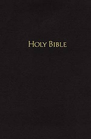 NKJV Pew Bible: Black, Hardback