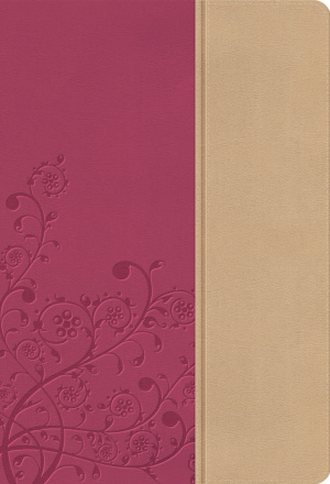 NKJV Woman's Study Bible: Pink, Leather-look