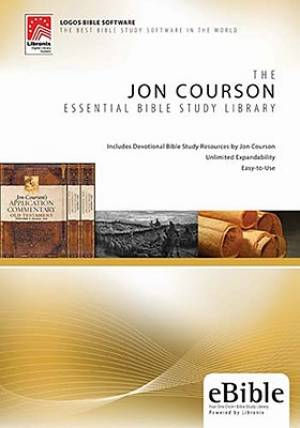 JON COURSON ESSENTIAL BIBLE STUDY CD ROM