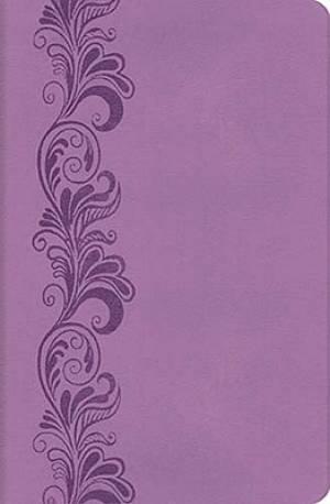 KJV Compact Ultraslim Violet Bible