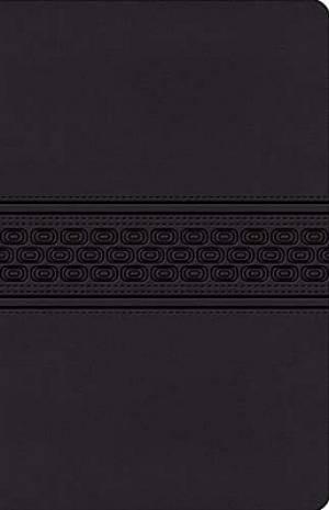 KJV Gift Bible: Black, Leathersoft