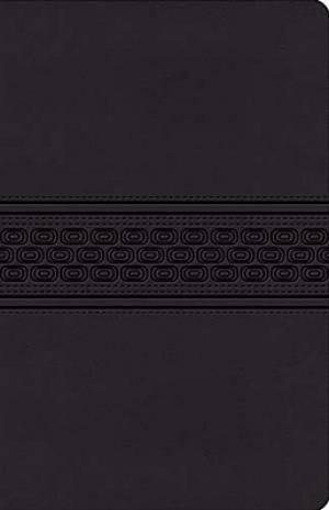 NKJV Gift Bible: Black, Leathersoft