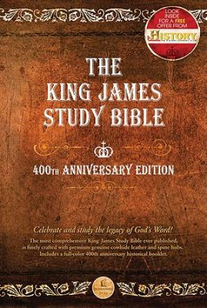 KJV 400th Anniversary Edition: Brown Genuine Leather