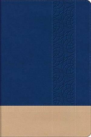 NKJV Personal Size Bible: Blue, Imitation Leather, Giant Print