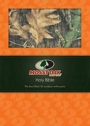 NKJV Large Print Mossy Oak Bible: Camo, Imitation Leather