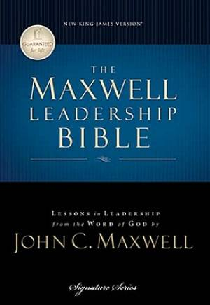 NKJV Maxwell Leadership Bible: Dove Grey, Hardback