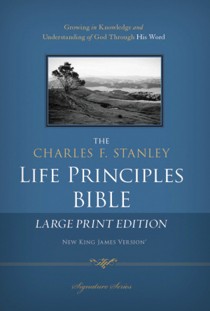 Charles F. Stanley Life Principles Bible-NKJV-Large Print