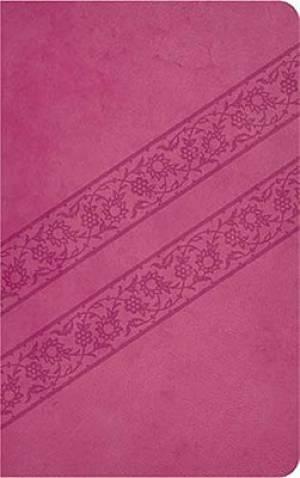 KJV Compact Ultraslim Bible: Pink, Imitation Leather
