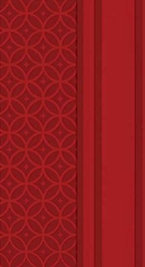 NKJV Checkbook Bible: Ruby, Leathersoft