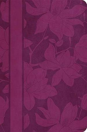 NKJV Woman's Study Bible: Plum, Leather-look