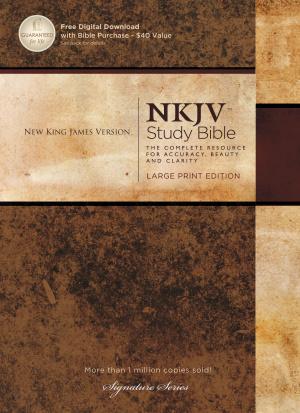 NKJV Study Bible: Large Print, Hardback