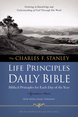 NKJV Life Principles Daily Bible: Paperback