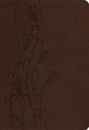 KJV Center Column Reference Bible Brown Imitation Leather