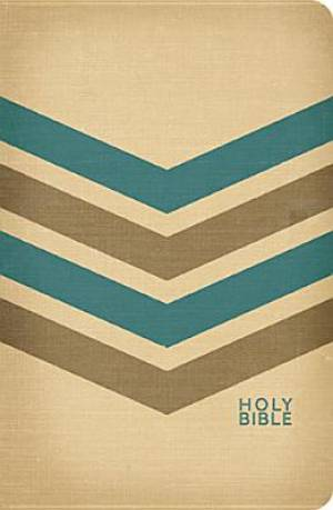 Kjv Compact Ultraslim Bible Fabric Tan B