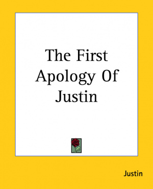 First Apology Of Justin
