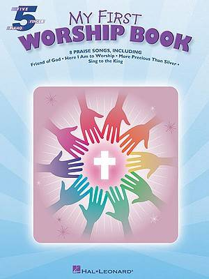 My First Worship Book Five Finger Piano Songbook