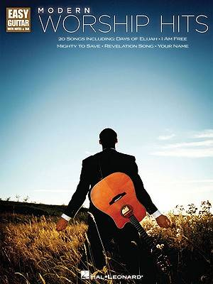 Modern Worship Hits Easy Guitar Songbook