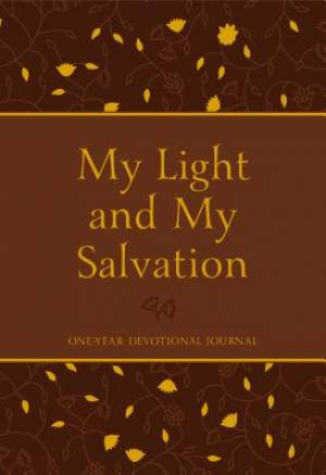 My Light and My Salvation: One Year Devotional Journal