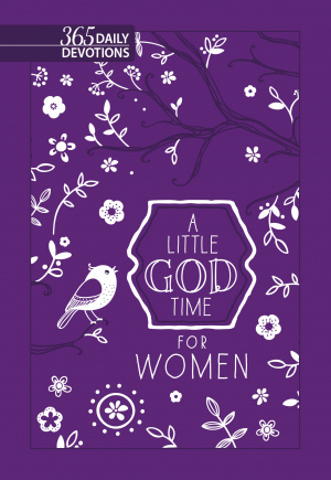 Little God Time for Women, A: 365 Daily Devotions (Purple)
