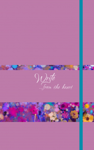 Write Journal: From The Heart (Orchid)