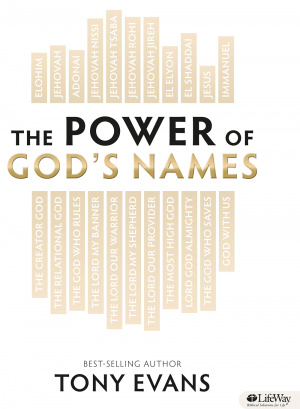 Power Of God's Names Member's Book