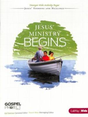 Jesus' Ministry Begins - Younger Kids Leader Guide