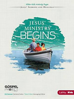 Jesus' Ministry Begins - Older Kids Activity Pages