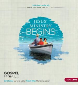 Jesus' Ministry Begins - Preschool Leader Kit