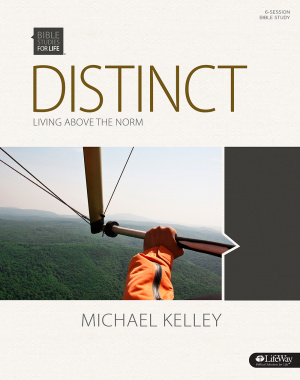 Distinct: Living Above the Norm - Bible Study Book