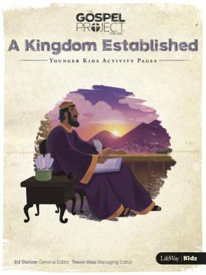 Kingdom Established, A: Younger Kids Activity Pages