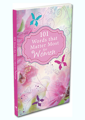 101 Words That Matter Most For Women Gift Book