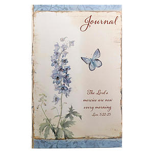 Blue Flowers/Lord's Mercies Flexcover Journal