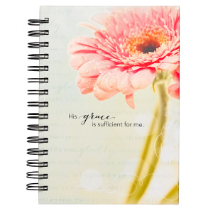 """His Grace Is Sufficient"" Wirebound Journal"