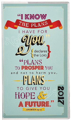 I Know the Plans - Small Daily Planner 2017