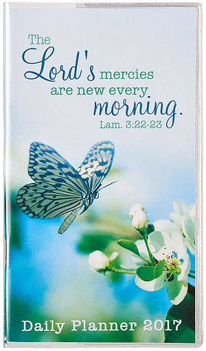The Lord's Mercies Small Daily Planner 2017