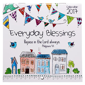 Everyday Blessings Small Calendar 2017