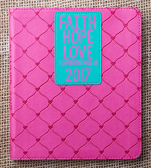 Faith Hope Love Planner 2017