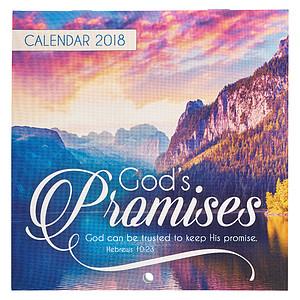 God's Promises 2018 Calendar
