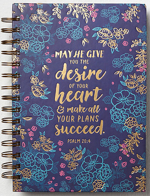 May He Give You the Desire of Your Heart large journal