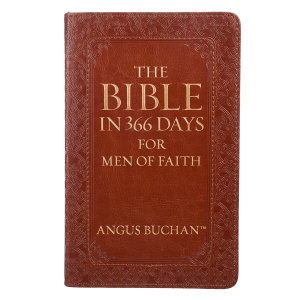 Lux-Leather - The Bible in 366 Days for Men of Faith
